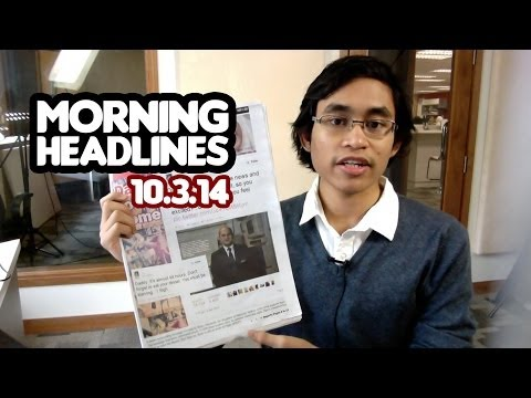 Ground Control to MH370 [Morning Headlines 10.3.14]