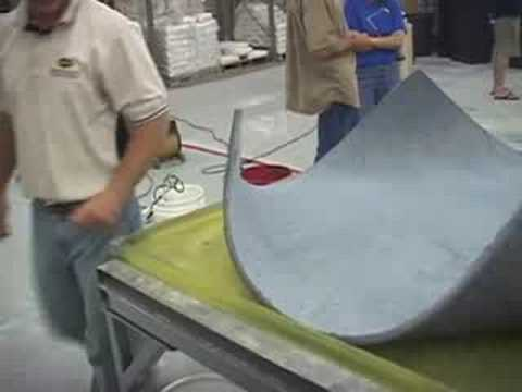 Bending Concrete into Furniture WOW MUST SEE - Surecretes - YouTube