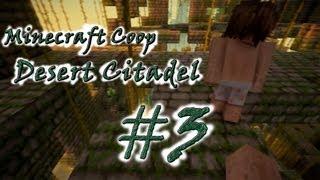 [Coop] Minecraft Desert Citadel. Серия 3 - Ведьмы - с*ки!..