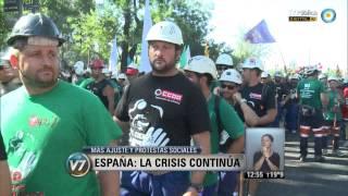 La crisis continúa en España