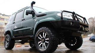 Тест драйв УАЗ Патриот против Toyota Land Cruiser 80, TLC 100, Pajero Sport