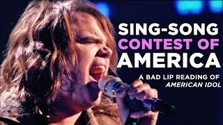 Bad Lip Reading: American Idol Version