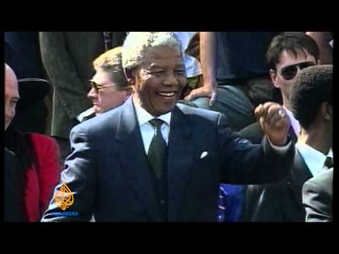 World mourns Nelson Mandela death