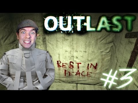 Outlast - Part 3 | FOLLOW THE BLOOD | Gameplay Walkthrough - Commentary/Face cam reaction