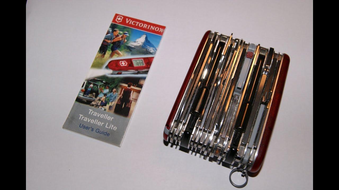 Victorinox Xavt Traveller Lite 1 3705 Avt Taschenmesser