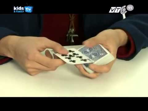 Học ảo thuật cùng J - Cách Làm ảo thuật với quân bài