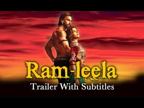 Ram-leela - Theatrical Trailer with English Subtitles ft. Ranveer Singh & Deepika Padukone