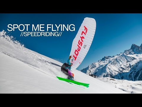 Spot me flying // Speedriding