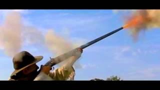 4 Gauge Shotgun In Slow Motion