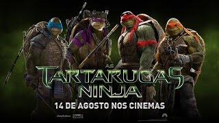 AS TARTARUGAS NINJA Teaser Trailer Oficial Brasil HD