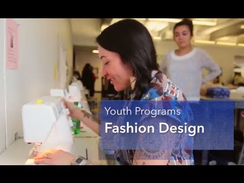 2014 Youth Fashion Design // Instructor Eliza Chan '08