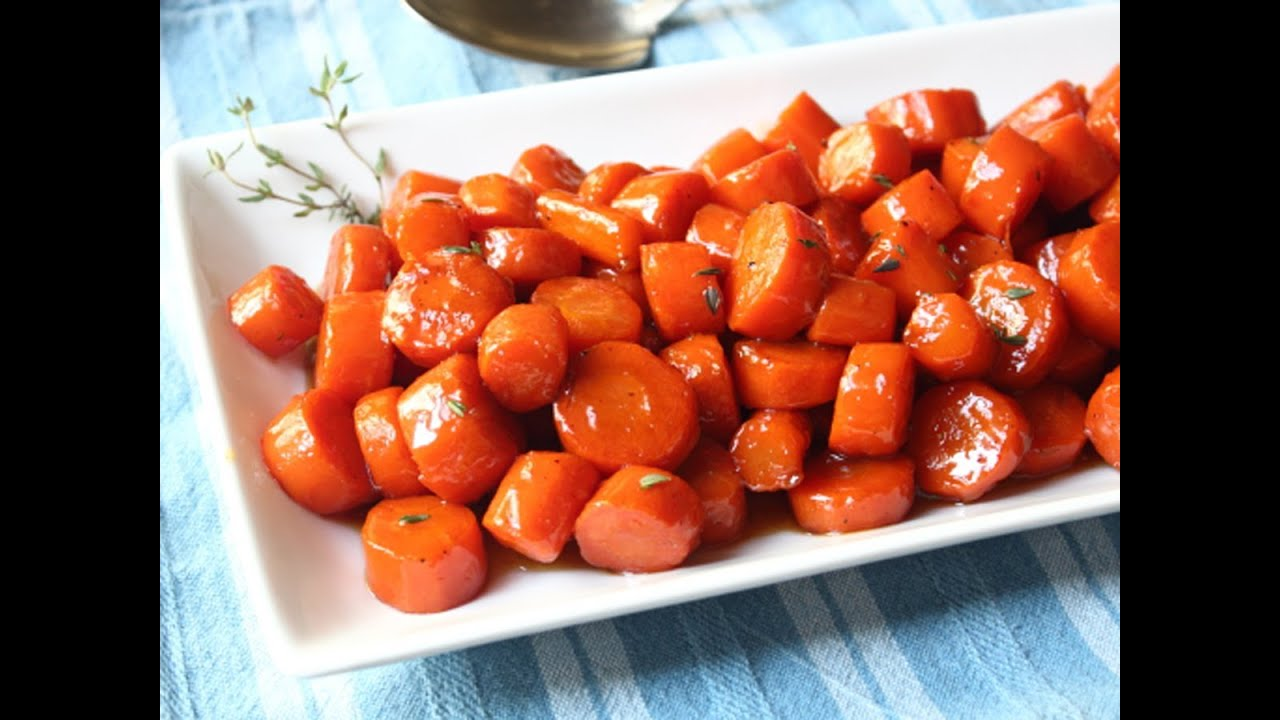 Bourbon Glazed Carrots - Special Occasion Carrot Side Dish Recipe ...