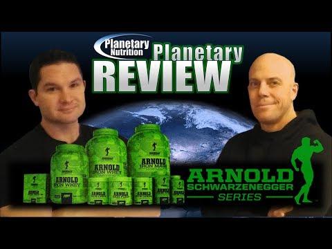 Arnold Schwarzenegger Iron Series | Planetary Nutrition