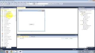 Visual C++ Tutorial 1Windows Forms Application: Getting