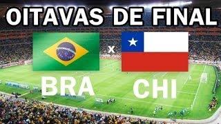 Copa 2014 : Brasil X Chile : E NO VIDEO GAME ?
