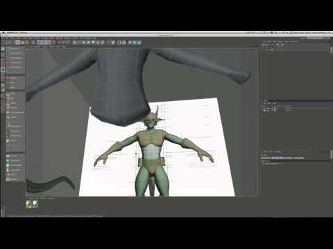 Model a heroic character in Cinema 4D (Part 2)
