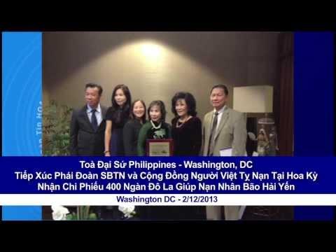 Toà Đại Sứ Philippines Tiếp Xúc Phái Đoàn SBTN và Cộng Đồng Người Việt Tỵ Nạn Tại Hoa Kỳ