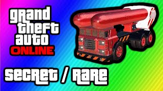 GTA 5 Online Top 5 Secret Rare Cars & Vehicle's (GTA V