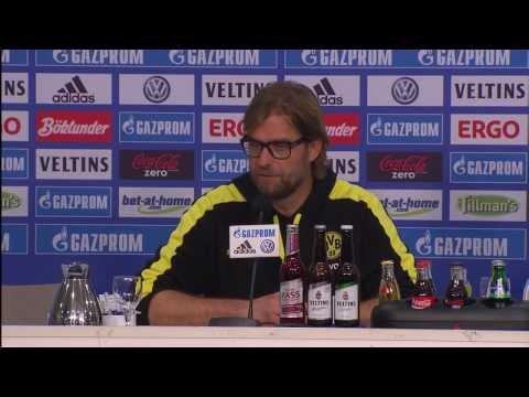 Schalke 04 - Borussia Dortmund: Pressekonferenz mit Klopp und Keller