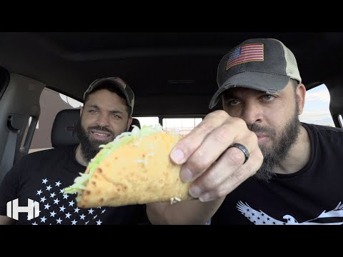 "Eating Taco Bell ""Bacon Club Chalupa"""