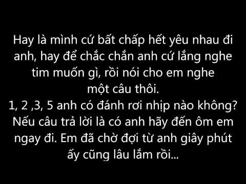 Mình yêu nhau đi - Bích Phương (Lyrics)