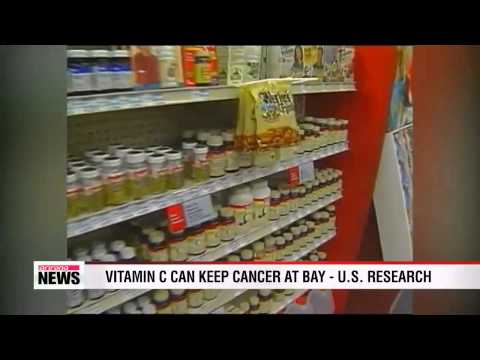 Vitamin C can keep cancer at bay - U.S. research