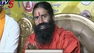 Ramdev Baba Demands Telangana and justice to Seemandhra