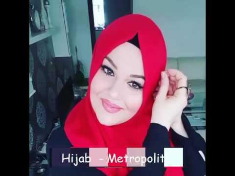 Cara Memakai Jilbab Untuk Wajah Bulat # 9