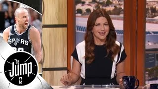 Manu Ginobili saves Spurs against Warriors in NBA playoffs | The Jump | ESPN