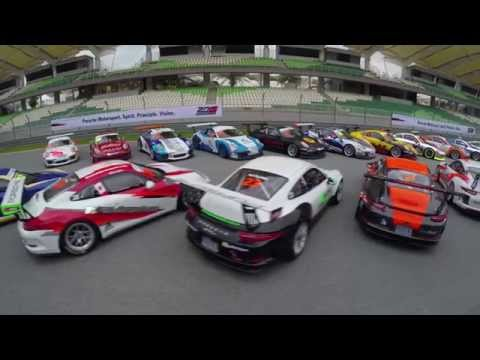 Porsche Carrera Cup Asia 2015: Official Test Day 1