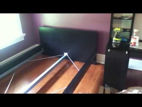 ikea malm bed instructions video