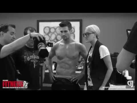 Gregory James Behind The Scenes with James Maslow for FitnessRX for Men