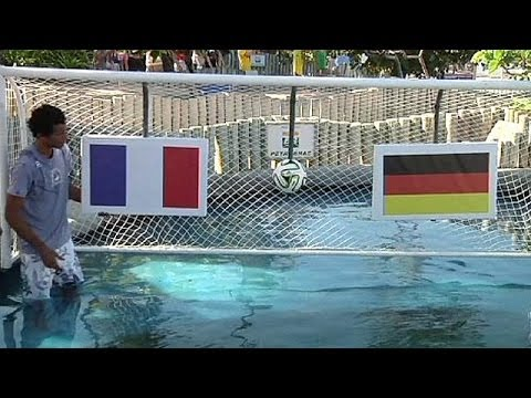 Brazil's psychic turtle sees France and Germany in World Cup semi-finals
