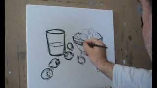 Bodegon 1ªparte Dibujo
