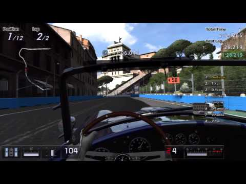 GT5 - Shelby Cobra 427 Chrome Line Edition Gameplay