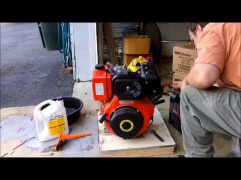 Cub Cadet Turbo Diesel Project - Part 2 - First Start of the Chinese Diesel