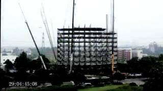 Строительство отеля в Китае за 6 дней