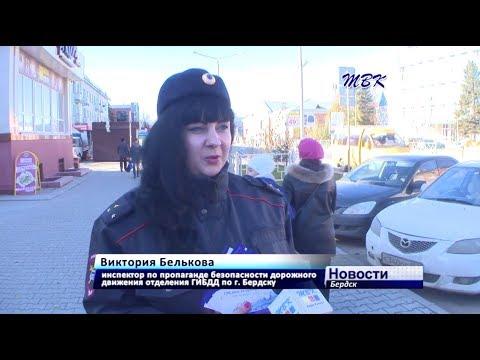 Госавтоинспекция Бердска провела акцию против гаджетов за рулем