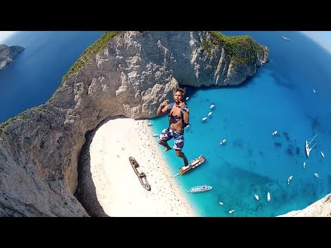 Most Incredible Basejump Site - Navagio Beach (Greece)