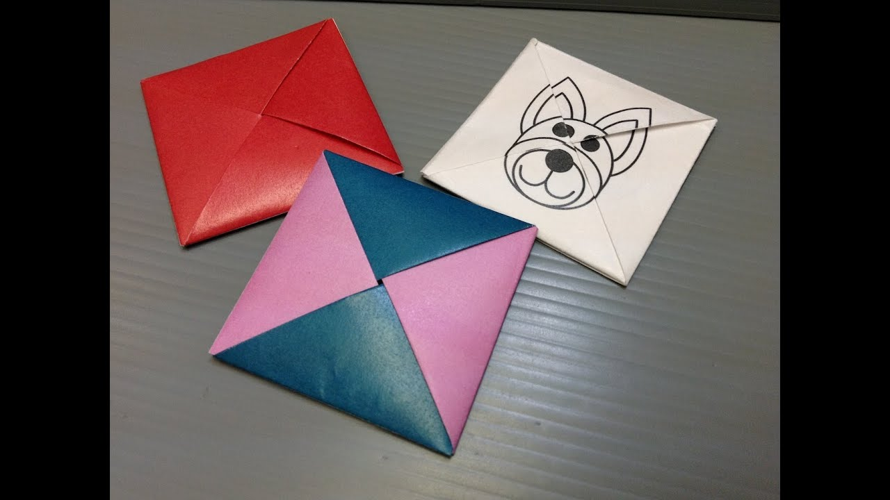 It is a picture of Exceptional Origami Print Out
