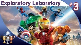 LEGO Marvel Super Heroes Walkthrough Level 3
