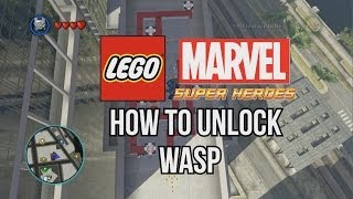 How To Unlock Wasp LEGO Marvel Super Heroes