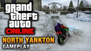 GTA Online North Yankton Gameplay (How To Reach North