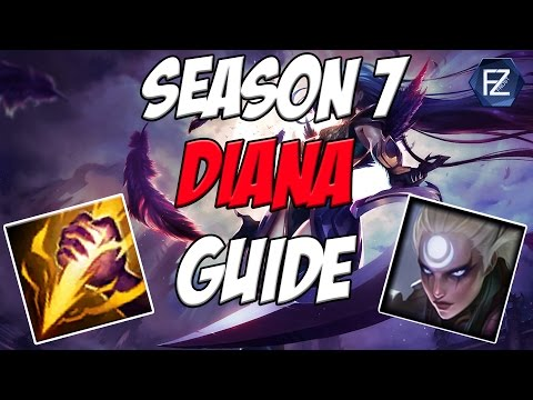 UPDATED DIANA GUIDE - How to Play Diana Jungle in Season 7 | League of Legends