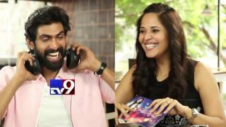 Rana prefers food to Girls ! Watch in A Date With Anasuya..