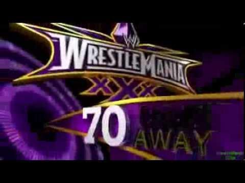 WWE WrestleMania XXX Promo (70 Days) [720p]