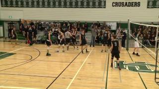 Bc High School Girls Aa Volleyball Mei Vs Lcs Provincial Final 2016 5th Set Tvplayvideos