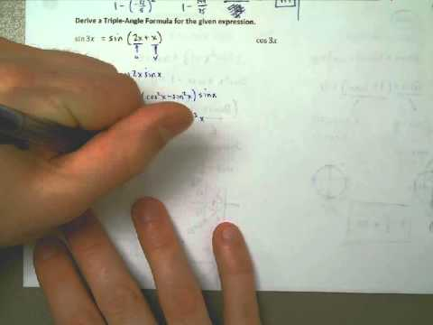 Deriving a Triple Angle Formula
