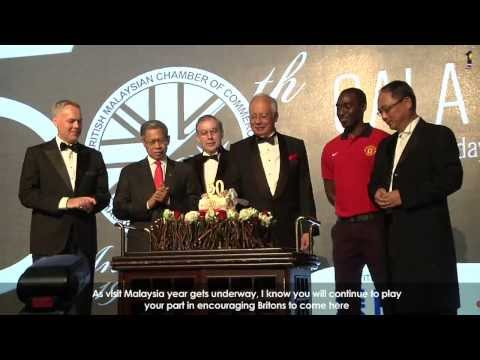 Najib Razak : British Malaysian Chamber Of Commerce 50TH Anniversary Gala Dinner