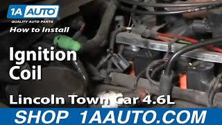 How To Fix Repair Replace Install Ignition Coil Lincoln